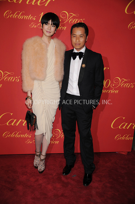 WWW.ACEPIXS.COM . . . . . ....April 30 2009, New York City....Designer Phillip Lim (R) arriving at the Cartier 100th Anniversary in America Celebration at Cartier Fifth Avenue Mansion on April 30, 2009 in New York City.....Please byline: KRISTIN CALLAHAN - ACEPIXS.COM.. . . . . . ..Ace Pictures, Inc:  ..tel: (212) 243 8787 or (646) 769 0430..e-mail: info@acepixs.com..web: http://www.acepixs.com