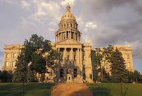 State Capitol, Denver, CO, State House, Colorado, The Colorado State Capitol Building in the capital city of Denver.