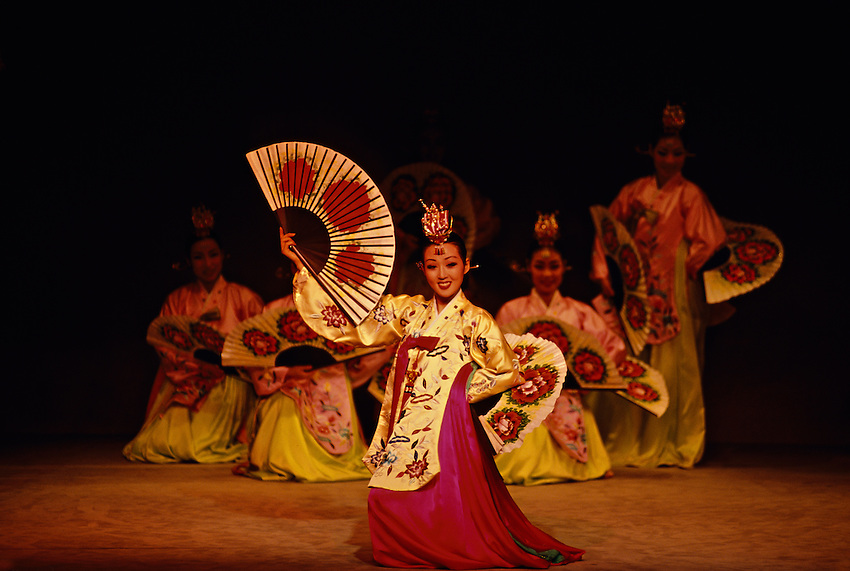 Korean traditional music and dance performance, Korea House, Seoul, South Korea