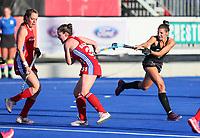 Amy Robinson.Pro League Hockey, Vantage Blacksticks v Great Britain. Nga Puna Wai Hockey Stadium, Christchurch, New Zealand. Friday 8th February 2019. Photo: Simon Watts/Hockey NZ