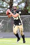 Palos Verdes, CA 11/04/11 - Tommy Webster (Peninsula #49) in action during the West Torrance vs Peninsula varsity football game.