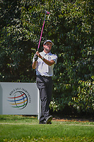 Bubba Watson (USA) watches his tee shot on 2 during round 3 of the World Golf Championships, Mexico, Club De Golf Chapultepec, Mexico City, Mexico. 3/3/2018.<br /> Picture: Golffile | Ken Murray<br /> <br /> <br /> All photo usage must carry mandatory copyright credit (&copy; Golffile | Ken Murray)