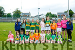 Girls under 13 enjoying the Na Gael Summer Camp on Tuesday