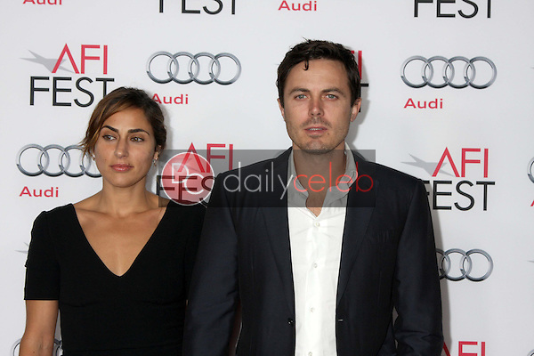 Summer Phoenix, Casey Affleck<br /> at the &quot;Out Of The Furnace&quot; Premiere as part of AFI FEST 2013, Chinese Theater, Hollywood, CA 11-09-13<br /> David Edwards/DailyCeleb.com 818-249-4998
