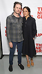 Josh Hamilton and Lily Thorne attends the World Premiere of Hamish Linklater's 'The Whirligig' at Green Fig's Social Drink and Food Club Terrace on May 21, 2017 in New York City.