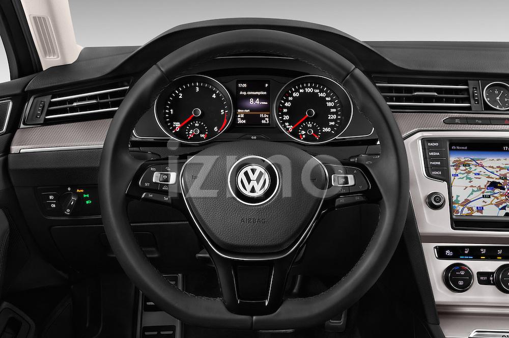 Car pictures of steering wheel view of a 2016 Volkswagen Passat Alltrack 5 Door Wagon Steering Wheel