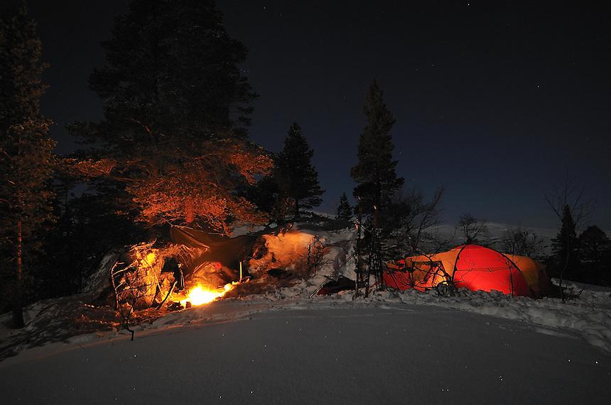 Tenting in Trollheimen,Norway