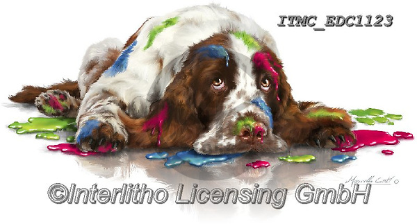 Marcello, REALISTIC ANIMALS, REALISTISCHE TIERE, ANIMALES REALISTICOS, paintings+++++,ITMCEDC1123,#a#, EVERYDAY ,dog,paint,
