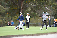 Andrea Pavan (ITA) and Renato Paratore (ITA) during the 3rd round of the World Cup of Golf, The Metropolitan Golf Club, The Metropolitan Golf Club, Victoria, Australia. 24/11/2018<br /> Picture: Golffile | Anthony Powter<br /> <br /> <br /> All photo usage must carry mandatory copyright credit (&copy; Golffile | Anthony Powter)