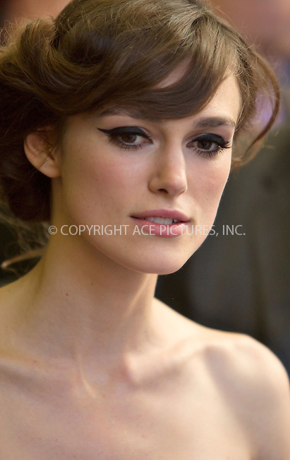Keira Knightley at the London premiere of 'The Edge of Love' at the Curzon Mayfair in London - 19 June 2008..FAMOUS PICTURES AND FEATURES AGENCY 13 HARWOOD ROAD LONDON SW6 4QP UNITED KINGDOM tel +44 (0) 20 7731 9333 fax +44 (0) 20 7731 9330 e-mail info@famous.uk.com www.famous.uk.com.FAM23377