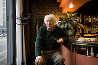 Milan, Italy, 2008. Séamus Heaney, Irish poet and writer, Nobel Prize in literature 1995.