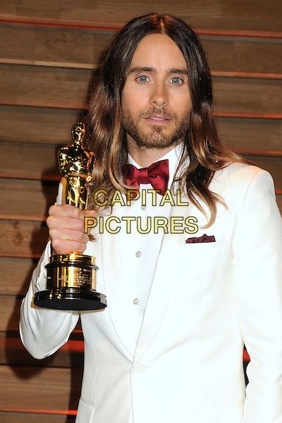 02 March 2014 - West Hollywood, California - Jared Leto. 2014 Vanity Fair Oscar Party following the 86th Academy Awards held at Sunset Plaza.  <br /> CAP/ADM/BP<br /> &copy;Byron Purvis/AdMedia/Capital Pictures