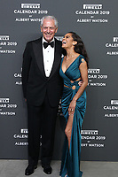 Marco TRONCHETTI PROVERO,(C.E.O.Pirelli),Misty COPELAND,L_R,at the red carpet of the Pirelli Calendar launch 2019,Hangar Biccoca,MILANO,05.12.2018 Credit: Action Press/MediaPunch ***FOR USA ONLY***