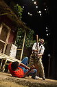 FENCES, by August Wilson, opens at the Duchess Theatre, in London's West End, following a successful run at Theatre Royal Bath. Lenny Henry takes on the lead role of Troy Maxson in, this production, which is directed by Paulette Randall. Picture shows: Ashley Zhangazha (Cory) and Lenny Henry (Troy Maxson).