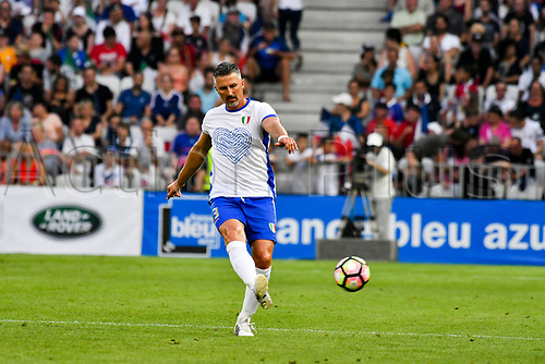 June 17th 2017; Allianz Riviera, Nice, France; Legends football international, France versus Italy;  Christian Panucci (Ita)