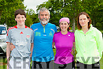 Eoin Cahill, Denis Cahill, Tina O'Donoghue and Nora O'Riordan who competed at the Killarney Parkrun on Saturday