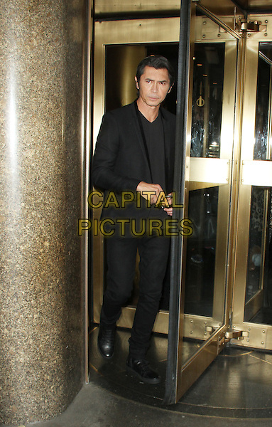 NEW YORK, NY - NOVEMBER 2: Lou Diamond Phillips seen leaving after an appearance on New York Live on November 2, 2015 in New York City. <br /> CAP/MPI/RW<br /> &copy;RW/MPI/Capital Pictures