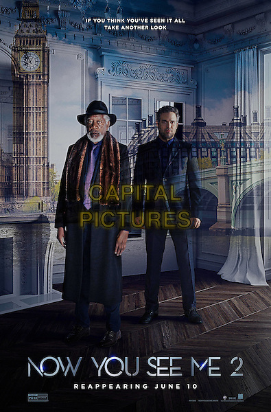 Now You See Me 2 (2016)<br /> Online Poster - Morgan Freeman, Mark Ruffalo<br /> *Filmstill - Editorial Use Only*<br /> CAP/KFS<br /> Image supplied by Capital Pictures