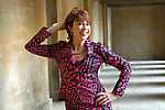 Kathy Lette at Blenheim Palace during the Woodstock Literary Festival, Woodstock, Oxfordshire, UK. 17 September 2010. Photograph copyright Graham Harrison.]
