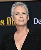"14 November 2019 - Westwood, California - Jamie Lee Curtis. ""Knives Out"" Los Angeles Premiere held at Regency Village Theater. Photo Credit: Birdie Thompson/AdMedia"