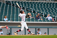 Bryce Daniel (1) of Providence Day High School in Matthews, North Carolina during the Under Armour All-American Pre-Season Tournament presented by Baseball Factory on January 14, 2017 at Sloan Park in Mesa, Arizona.  (Freek Bouw/MJP/Four Seam Images)