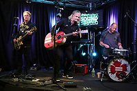 BALA CYNWYD, PA -AUGUST 7 : The Alarm visit Radio 104.5 performance studio in Bala Cynwyd, Pa on August 7, 2018 <br /> CAP/MPI/STA<br /> &copy;STA/MPI/Capital Pictures