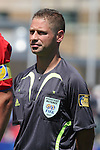 22 July 2007: Assistant Referee Juan Carlos Yuste Jimenez (ESP). At the National Soccer Stadium, also known as BMO Field, in Toronto, Ontario, Canada. Argentina's Under-20 Men's National Team defeated the Czech Republic's Under-20 Men's National Team 2-1 in the championship match of the FIFA U-20 World Cup Canada 2007 tournament.