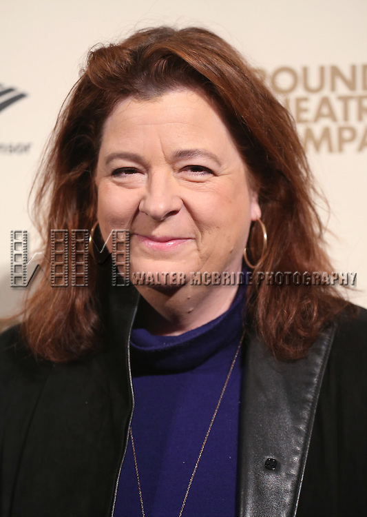 Theresa Rebeck attends the Roundabout Theatre Company's  50th Anniversary Gala at The Waldorf-Astoria on February 29, 2016 in New York City.