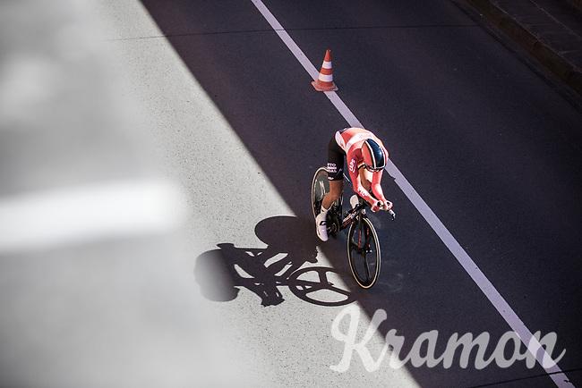 Tiesj Benoot (BEL/Lotto-Soudal)<br /> <br /> Baloise Belgium Tour 2017<br /> Stage 3: ITT Beveren - Beveren (13.4km)