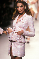 CARLA BRUNI<br /> Chanel<br /> 1995<br /> &copy; Guy Marineau/Catwalkpictures/TORDOIR/DALLE