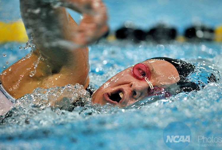 15 MAR 2008: Alison Lesher of Le Moyne College competes in the 1650 yard freestyle during the Division II Swimming and Diving Championship held at the Mizzou Aquatic Center in Columbia, MO.  Lesher finished with a time of 17:24.97 putting her in seventh..John Tully/NCAA Photos