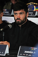 John Ryder is pictured at the Undercard and Main Event press conference for Saturday May 5th's boxing at the 02 arena in London. May 3, 2018. Credit: Matrix/MediaPunch ***FOR USA ONLY***<br /><br />REF: TST 181389