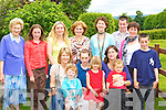 Enjoying the Ice cream party at Lissinbawn Currow on Sunday was front row l-r: Siobhain, Molly O'Sullivan, Marie Brosnan, Kimberly, Annette, Jack O'Brien. Back row: Nora Donnellan, Orla Brosnan, Geraldine Shanahan, Mary Shanahan, Margaret Donnellan, Padraig, Eileen and Niall Brosnan   Copyright Kerry's Eye 2008