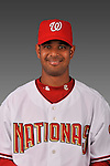 14 March 2008: ..Portrait of Beltran Perez, Washington Nationals Minor League player at Spring Training Camp 2008..Mandatory Photo Credit: Ed Wolfstein Photo
