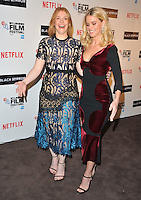 Bryce Dallas Howard and Alice Eve at the 60th BFI London Film Festival &quot;Black Mirror&quot; pre-reception red carpet photocall, BlueBird Cafe, Kking's Road, London, England, UK, on Thursday 06 October 2016.<br /> CAP/CAN<br /> &copy;CAN/Capital Pictures /MediaPunch ***NORTH AND SOUTH AMERICAS ONLY***