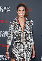 LOS ANGELES, CA - JUNE 10: Stephanie Cayo, at the Los Angeles Premiere Screening of Murder Mystery at Regency Village Theatre in Los Angeles, California on June 10, 2019. <br /> CAP/MPIFS<br /> ©MPIFS/Capital Pictures