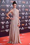 Clara Lago attends to the Red Carpet of the Goya Awards 2017 at Madrid Marriott Auditorium Hotel in Madrid, Spain. February 04, 2017. (ALTERPHOTOS/BorjaB.Hojas)