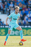 Ivan Rakitic of FC Barcelona in action during the La Liga 2017-18 match between CD Leganes vs FC Barcelona at Estadio Municipal Butarque on November 18 2017 in Leganes, Spain. Photo by Diego Gonzalez / Power Sport Images