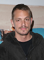 SANTA MONICA, CA - NOVEMBER 1: Joel Kinnaman, at the Los Angeles Premiere of documentary Bunker77 at the Aero Theater in Santa Monica, California on November 1, 2017. Credit: Faye Sadou/MediaPunch /NortePhoto.com