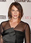WEST HOLLYWOOD, CA - OCTOBER 12: Actress Amanda Righetti arrives at Cosmopolitan Magazine's 50th Birthday Celebration at Ysabel on October 12, 2015 in West Hollywood, California.