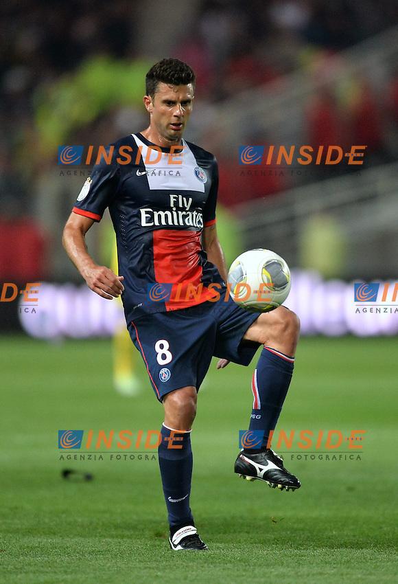 Thiago Motta (psg) <br /> Football Calcio 2013/2014<br /> Ligue 1 Francia<br /> Foto Panoramic / Insidefoto <br /> ITALY ONLY