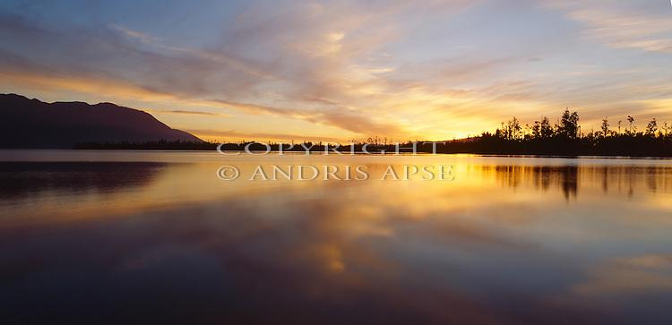 Lake Moana. Westland Region. New Zealand.