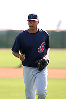 Joe Gardner, Cleveland Indians 2010 minor league spring training..Photo by:  Bill Mitchell/Four Seam Images.