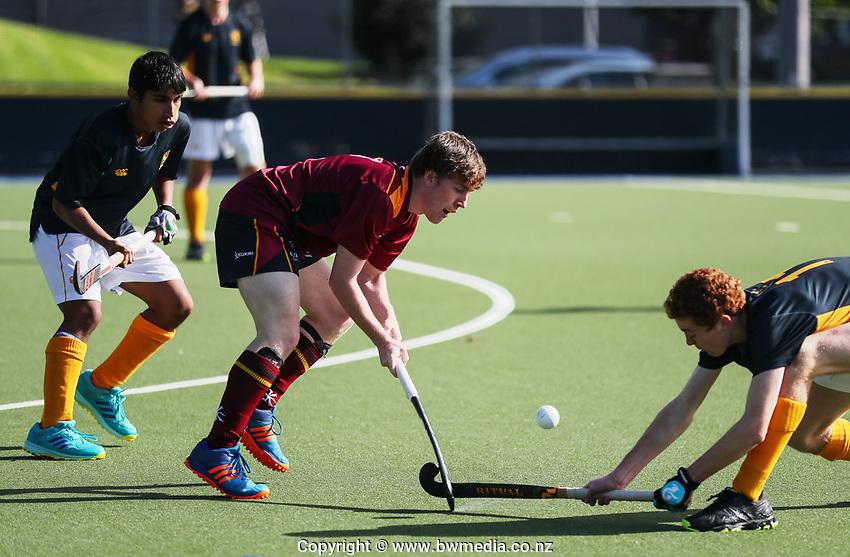 Kings College v Auckland Grammar 1st XI Hockey, Auckland Grammar, Saturday 18 May 2019 Photo: Simon Watts/www.bwmedia.co.nz