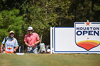 Peter Malnati (USA) approaches the tee on 2 during round 4 of the 2019 Houston Open, Golf Club of Houston, Houston, Texas, USA. 10/13/2019.<br /> Picture Ken Murray / Golffile.ie<br /> <br /> All photo usage must carry mandatory copyright credit (© Golffile | Ken Murray)