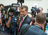 "FBI Deputy Assistant Director Peter Strzok walks past many cameras as he arrives to give testimony during a joint hearing of the United States House Committee on the Judiciary and the US House Committee on Oversight and Government Reform on ""Oversight of FBI and DOJ Actions Surrounding the 2016 Election"" on Capitol Hill in Washington, DC on Thursday, July 12, 2018. <br /> Credit: Ron Sachs / CNP<br /> (RESTRICTION: NO New York or New Jersey Newspapers or newspapers within a 75 mile radius of New York City)"