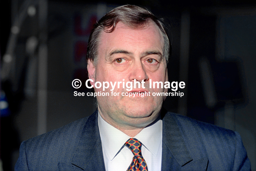 John Prescott, MP, deputy leader, Labour Party, UK, lannual conference September 1994. 199409009<br />