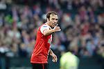 Nederland, Rotterdam, 27 januari  2013.Eredivisie.Seizoen 2012/2013.Feyenoord-FC Twente.Joris Mathijsen van Feyenoord in actie