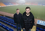 St Johnstone duo Richie Foster and David Wotherspoon pictured at McDiarmid Park today after both signing new contracts to keep them at the club&hellip;30.01.17<br />