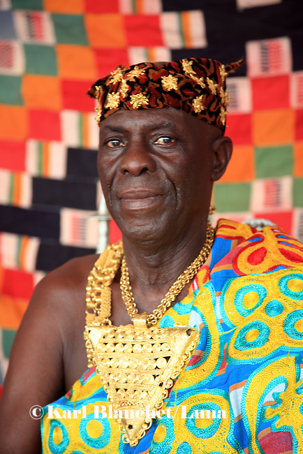 The Chief of NKoranza spent twenty years of his life in Edgware road, London, until the family asked him to come back to Ghana to become king.